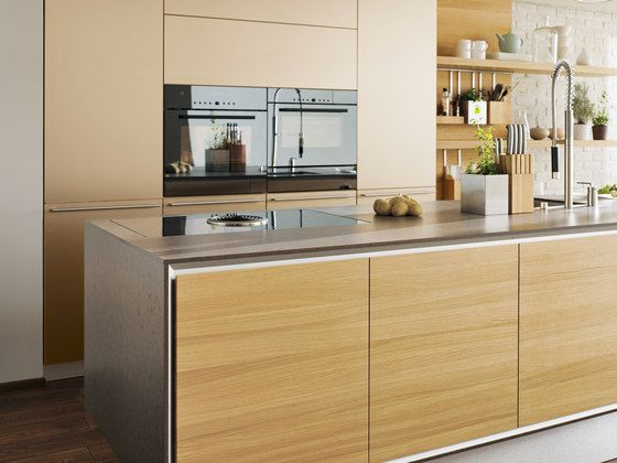 Fitted kitchens Kitchen systems vao linee kitchen TEAM 7 - küchen team 7