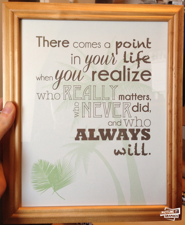 creative bridesmaid gift ideas custom quotes printed and framed cute cheap