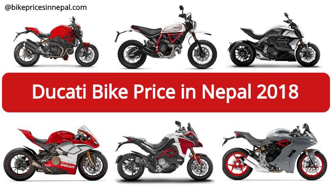 Official Ducati Bike Price In Nepal Updated Ducati Bike Price