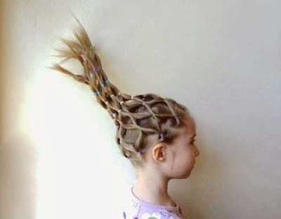 BowSweet: Tuesday Tips: Crazy Hair Day Ideas #crazyhatdayideas