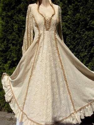 vintage gunne sax dress corset fantasy medieval victorian