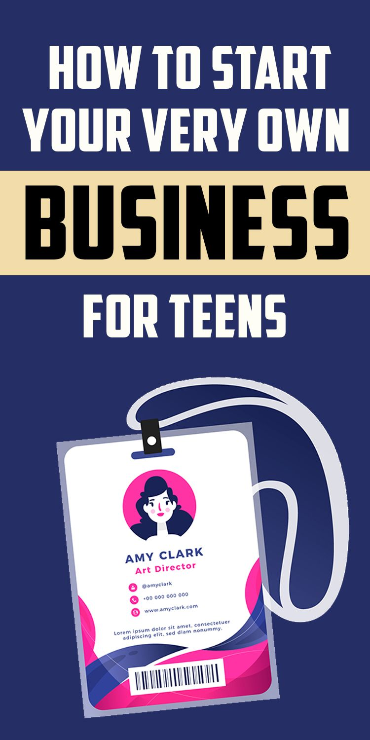 Opinion you Starting a business for teens