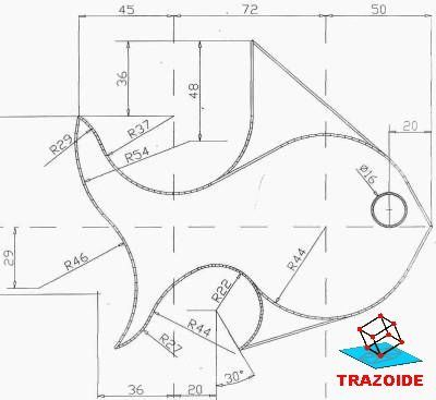 Autocad Technical Drawing Drawing Tutorial Mechanical Design