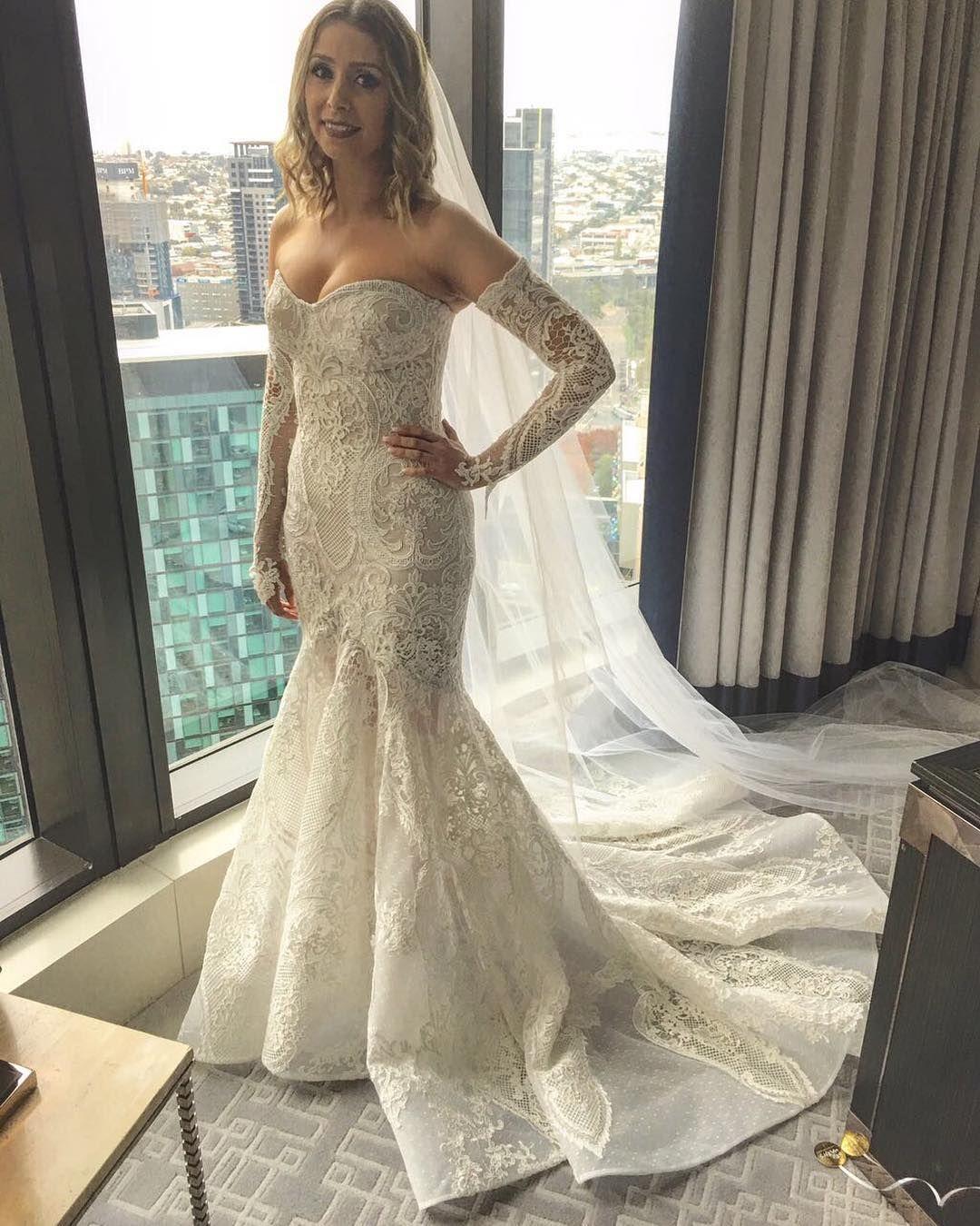 In L O V E with yesterday\'s bride Nicole an ALIN LE\' KAL Bridal ...