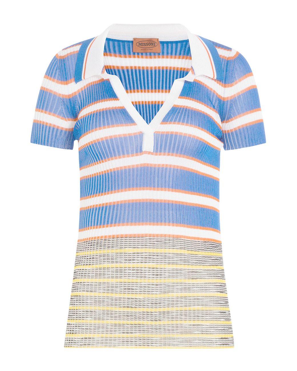 Striped knit shirt Missoni High Quality fEJBfzZmQT