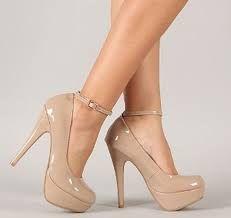 Zapatos beige Tacón de aguja formales para mujer FHUDDkBlKh