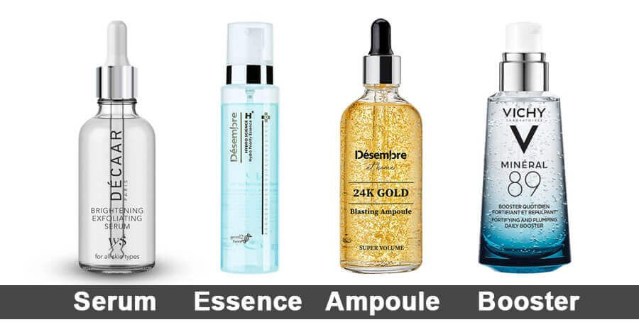What Is The Difference Between Serum Essence Ampoule Booster