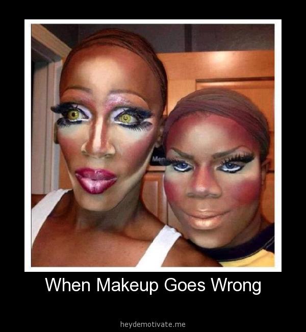 Meme Kiss And Makeup: Funny Makeup Fails