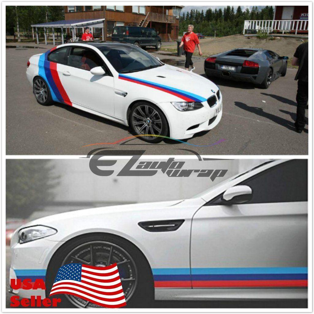M Performance BMW Racing Stripe Car Bmw