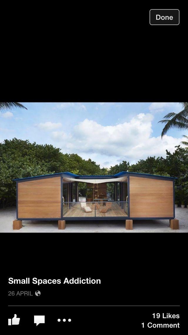 Home Ideas Tiny Beach House Beach House Design Miami Houses