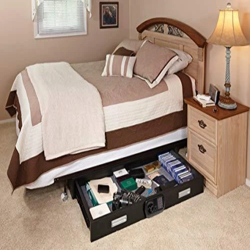 Under Bed Safe in 2020 (With images) Under bed, Bed