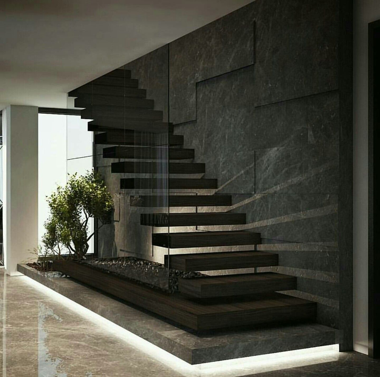 Pin By Esnaider Esquivel On Decoracao Stairway Design Home Stairs Design Stairs Design Modern