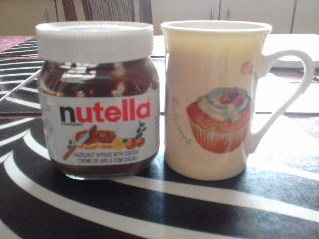 Nutella Lava Mug Cake   Recipe   Nutella, Sweet meat ...