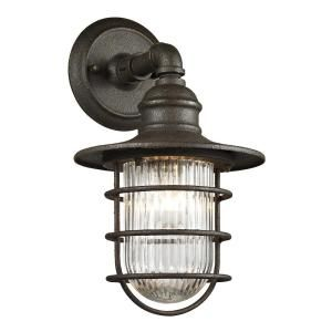 Fifth And Main Lighting Freeport 1 Light Centennial Rust Exterior Wall Mount Sconce With Glass Shade Wl 2116 The Home Depot Outdoor Wall Sconce Outdoor Wall Lantern Wall Mounted Sconce