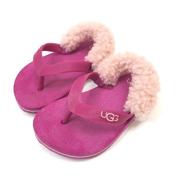 9ada7a9439c Details about Infant Baby Girl Summer Sandals Anti-slip Flip-flop ...