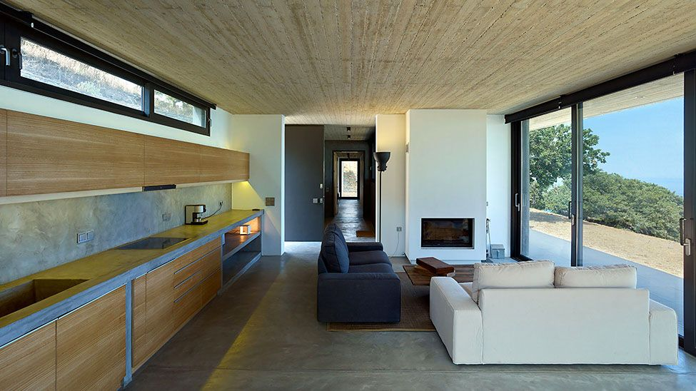 awesome greek house in kea by marina stassinopoulos and konstantios daskalakis - Greek Modern Home Architecture Design