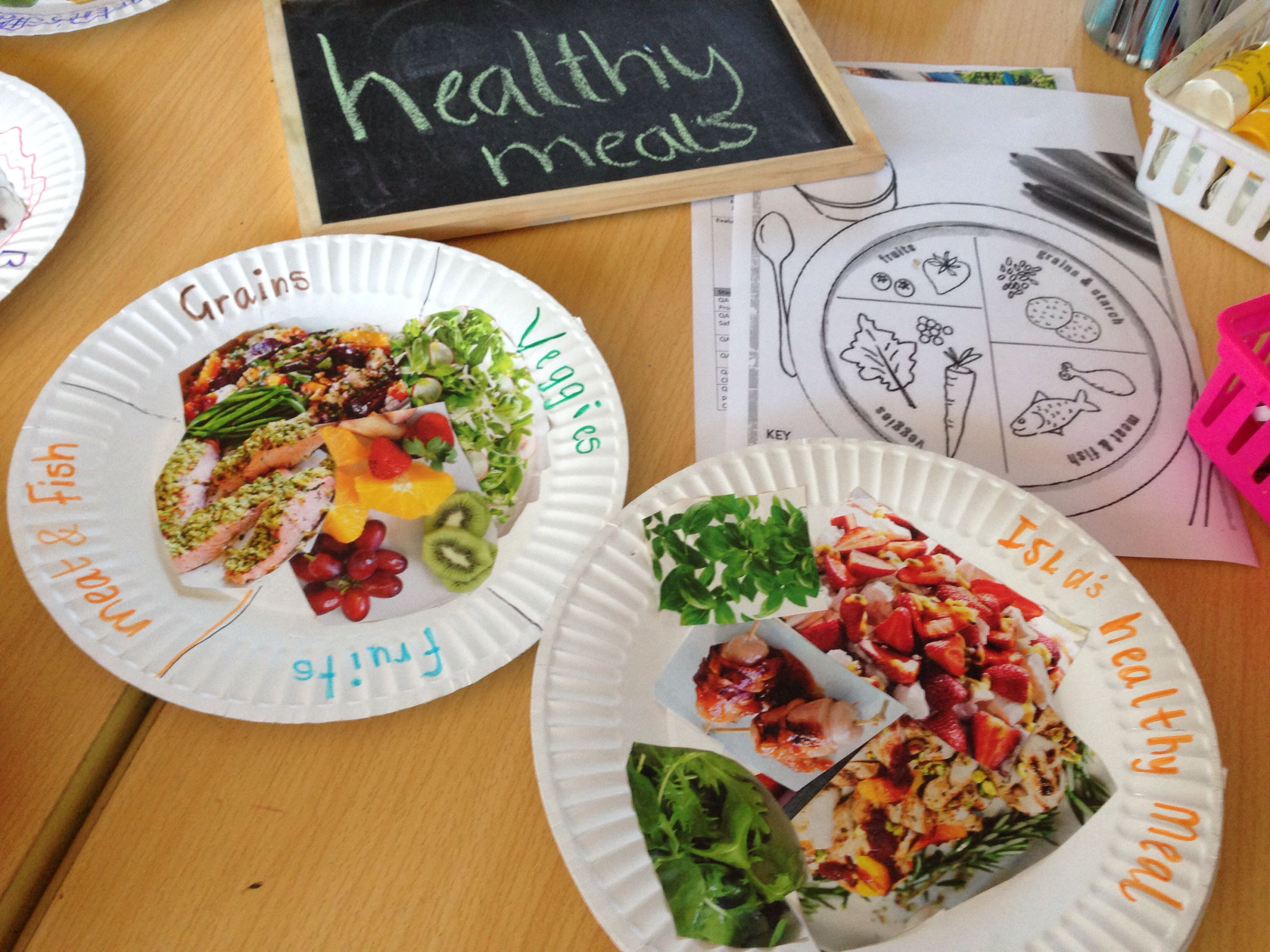 Healthy meals craft activity in afterschool care linking ... - photo#42