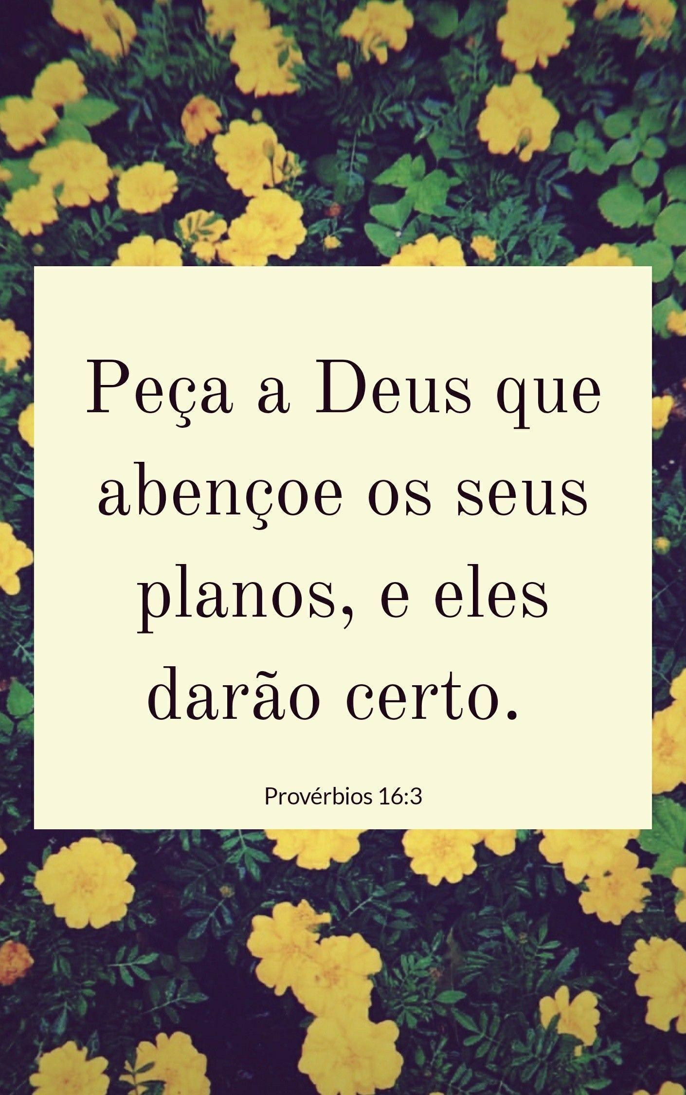 Peça a Deus e ele vai abençoar seus planos