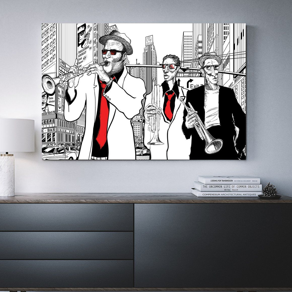 This high quality canvas wall art