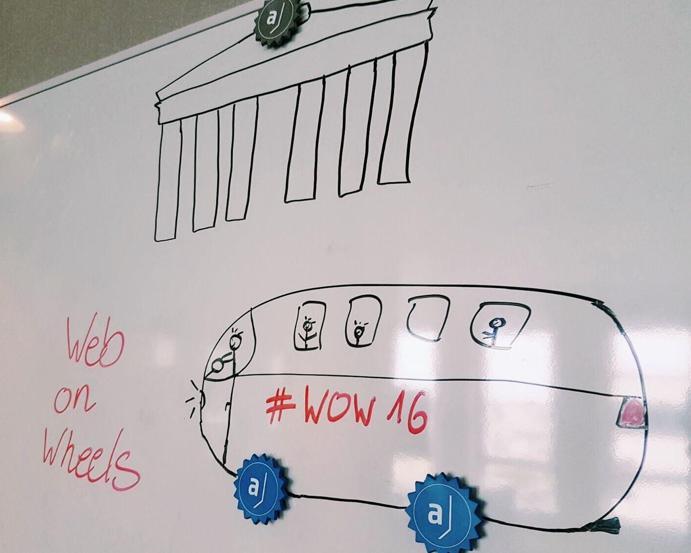 Am 27.10 ist der Web-on-Wheels Shuttle in Berlin unterwegs und fährt auch bei #adessoAG vorbei! Meldet euch jetzt an: http://www.web-on-wheels.de