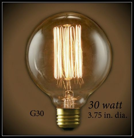 Looking For 240 Volt Vintage Globe With Hand Wound Thread Style Filament 60 Watt