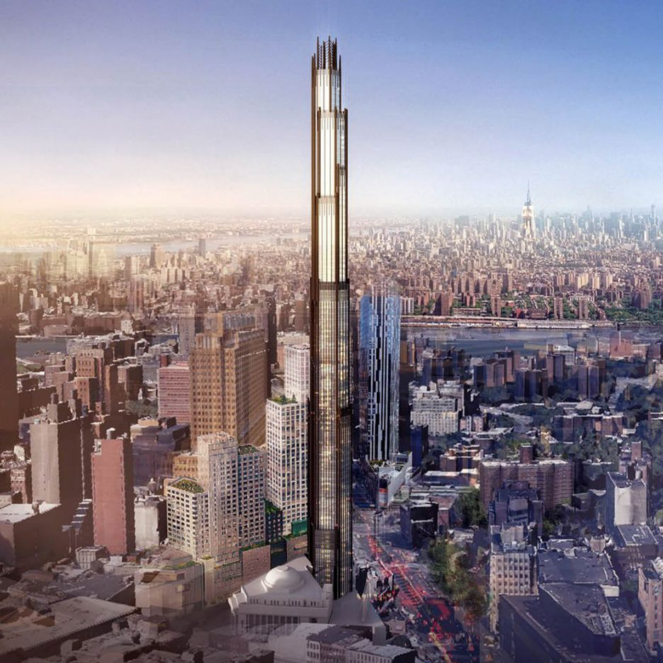 Manhatten New York: Plans Unveiled For Super-tall Tower In Brooklyn By SHoP