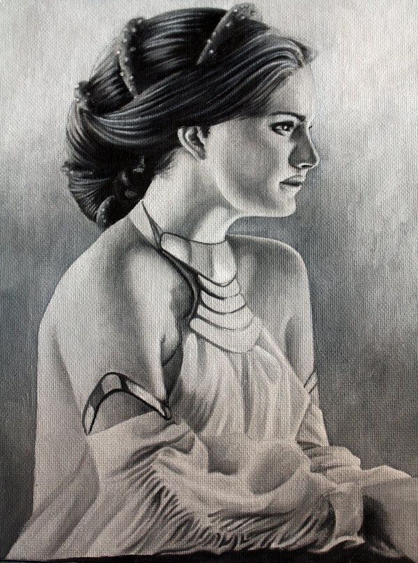 Padme's Pensiveness by Judith Parra [©2010]