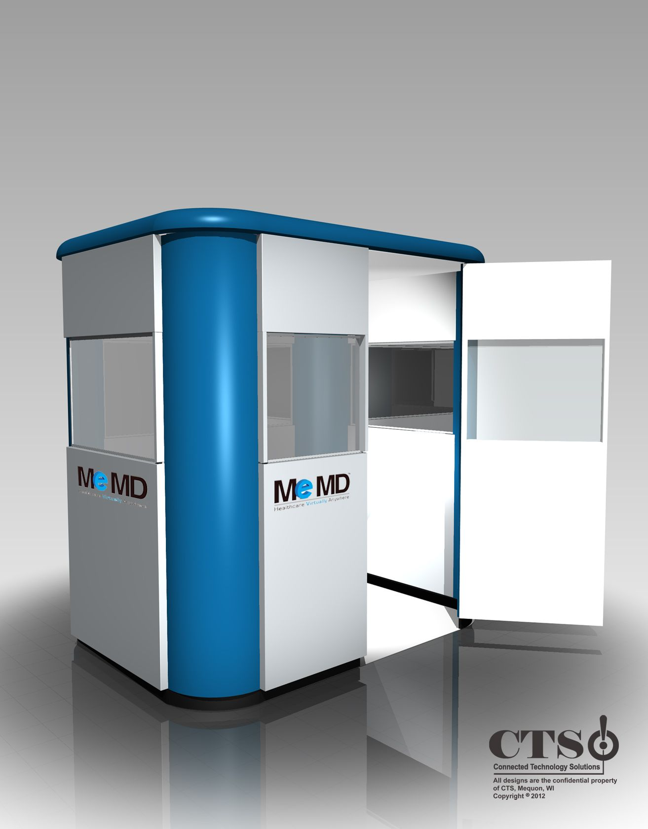 cool telehealth kiosk design | Healthcare Structures | Kiosk design