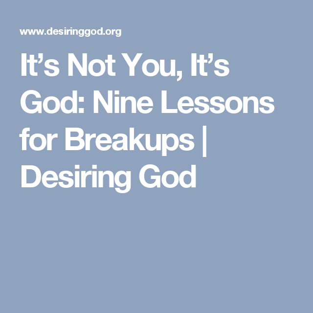 Desiring god dating quotes