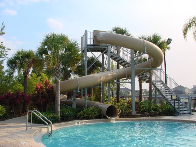 Big Slide For Outdoor Pool One Day My House Will Have This D