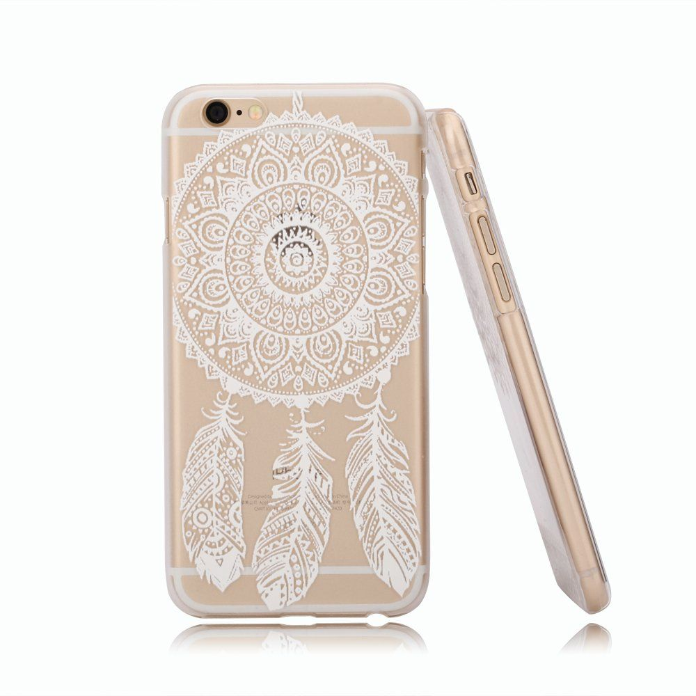 buy online 8d4e6 2309b Amazon.com: iPhone 6 Case, Hundromi(TM) Plastic Case Cover for ...
