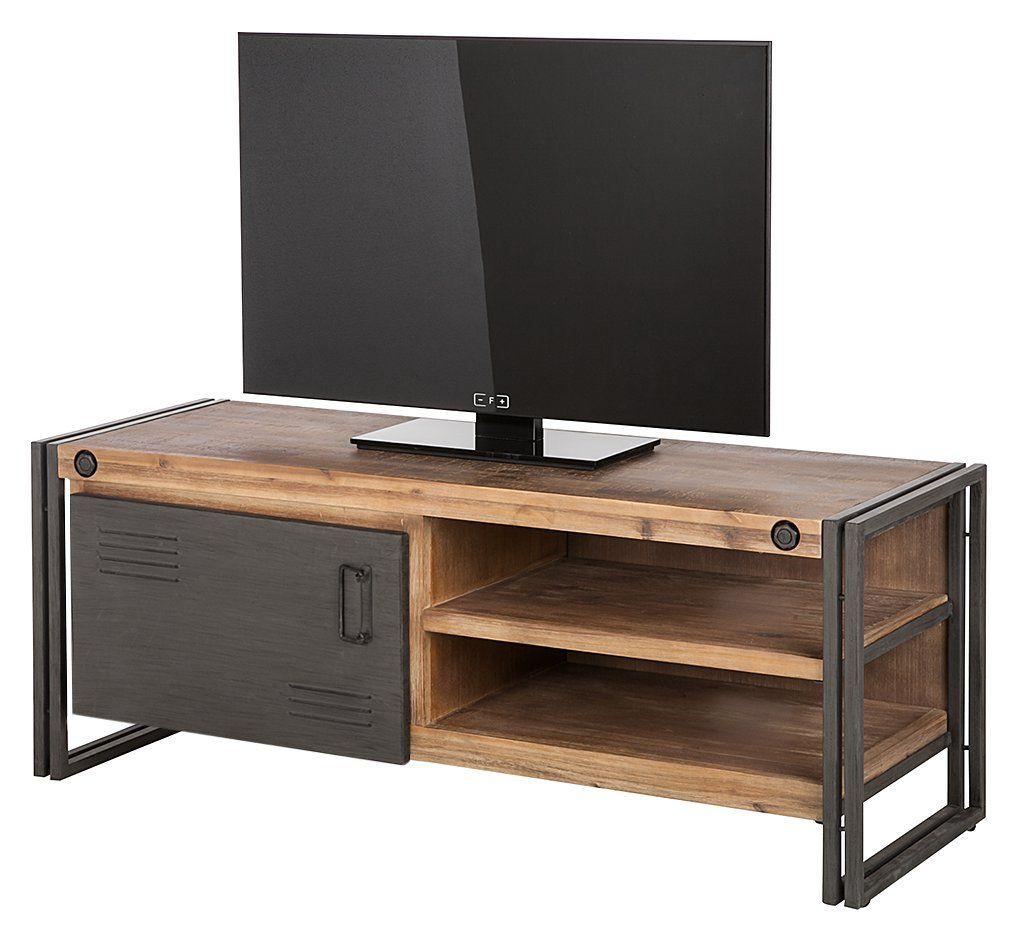 Tv möbel industrial design  Tolle tv möbel wildeiche massiv | Deutsche Deko | Pinterest | TV ...