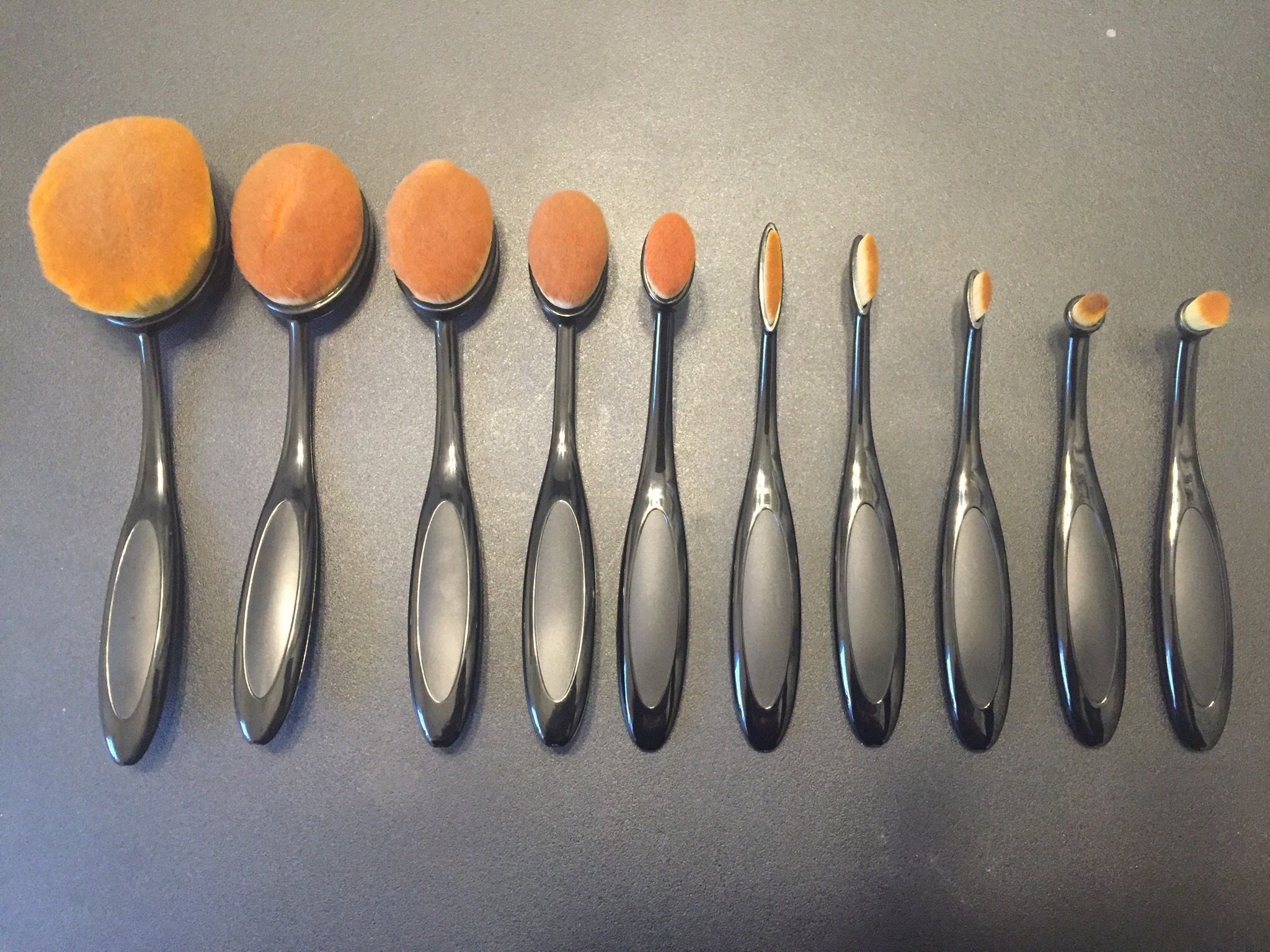 Oval Brush Set Review Behind the Scenes Makeup