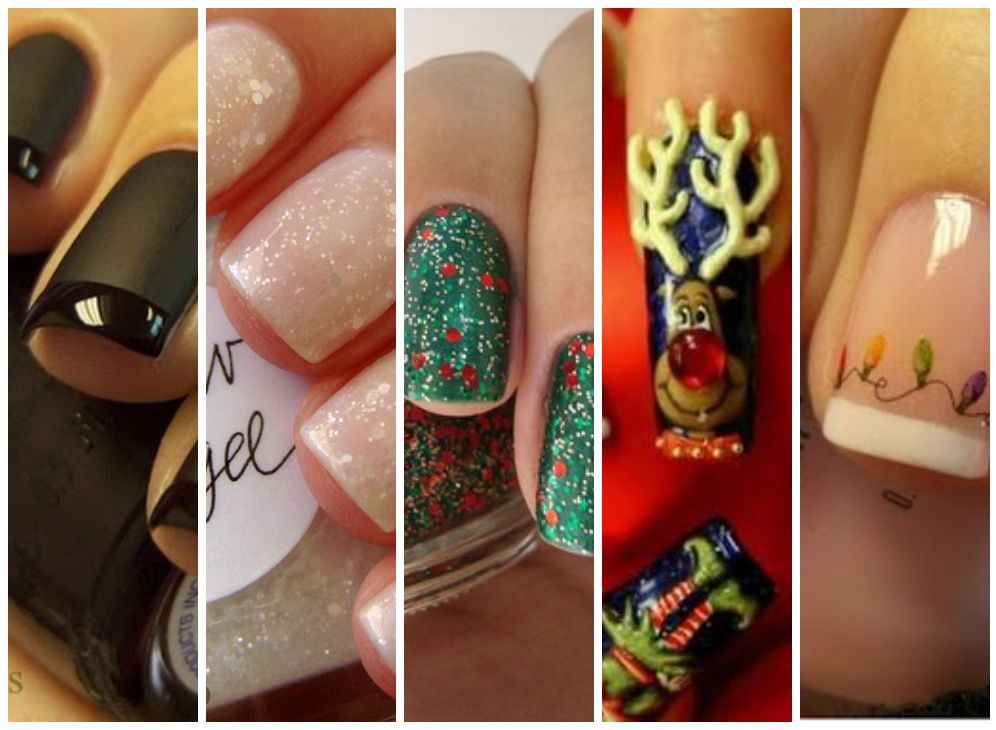 How will you paint your nails for the holidays? Here are a few fun ...