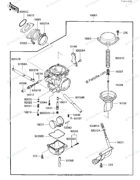 1986 Kawasaki Bayou 300 Parts Diagram Diagram Kawasaki 4x4 Parts