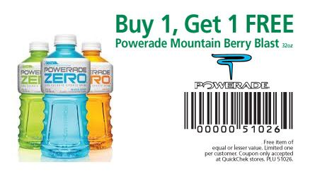 photograph regarding Printable Powerade Coupons known as Getting a PowerAde bottle of turning out to be a worthwhile price cut