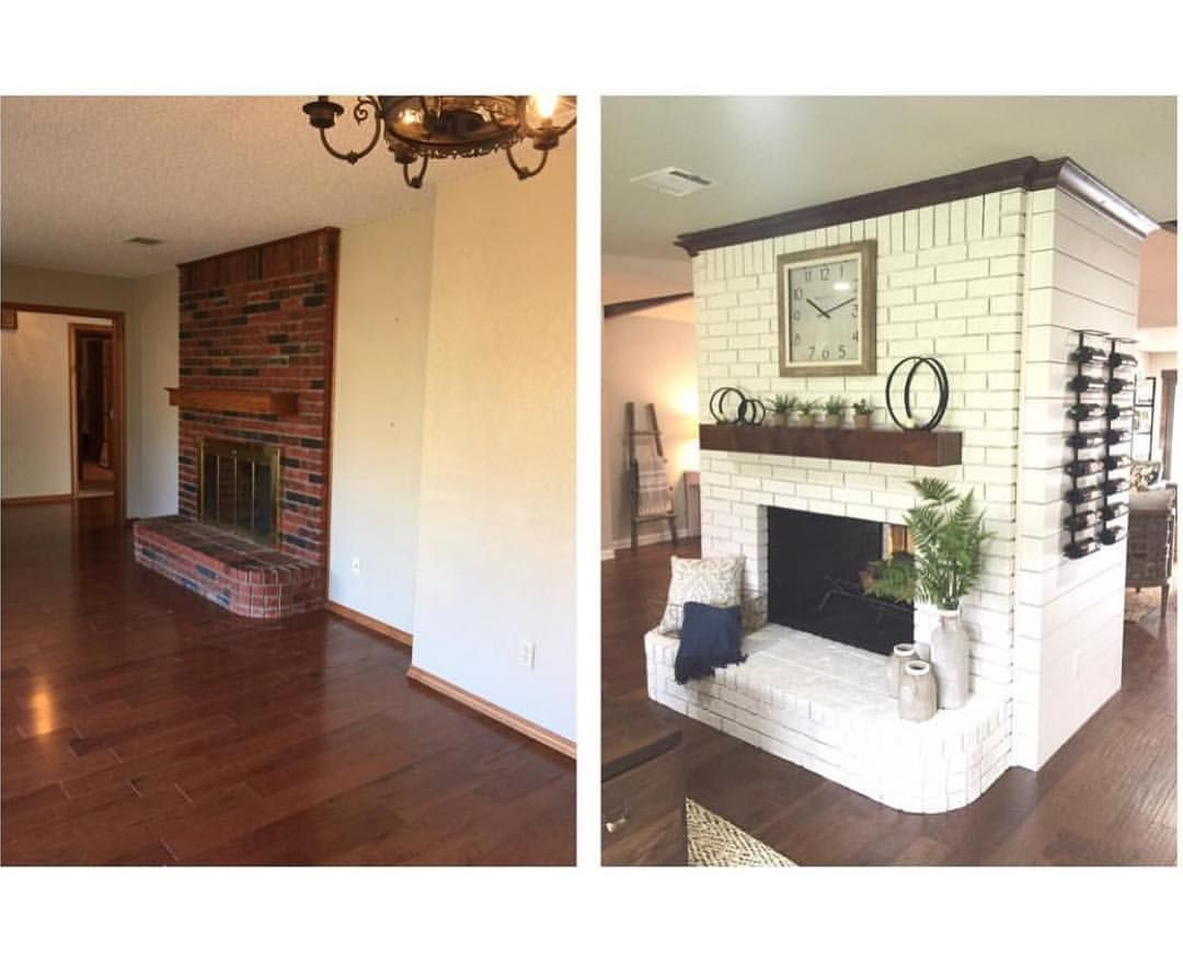 Love a good beforeandafter We knocked down the walls on both