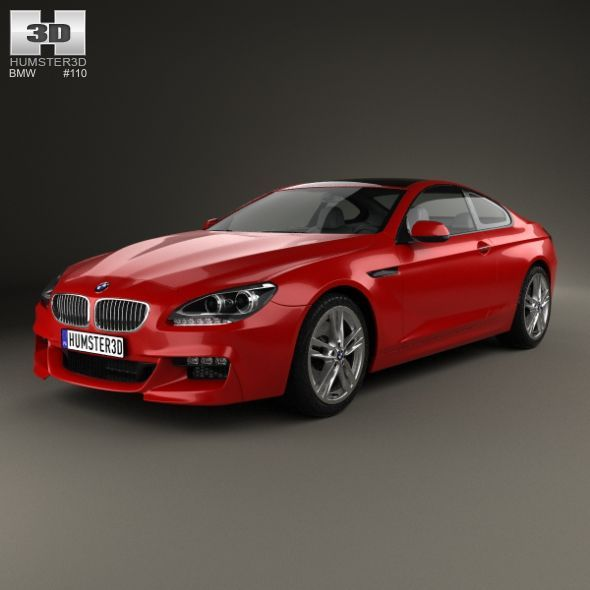 Bmw 6 Series F13 Coupe M Sport Package 2015 3d Model
