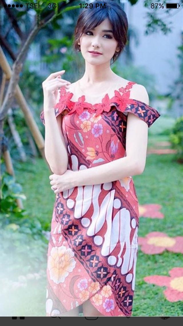 Dress Batik | batik dress | Pinterest