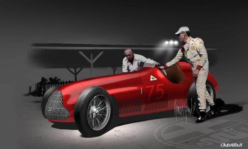 """Gran Premio Tipo 159 """"Alfetta"""" (1951)"""