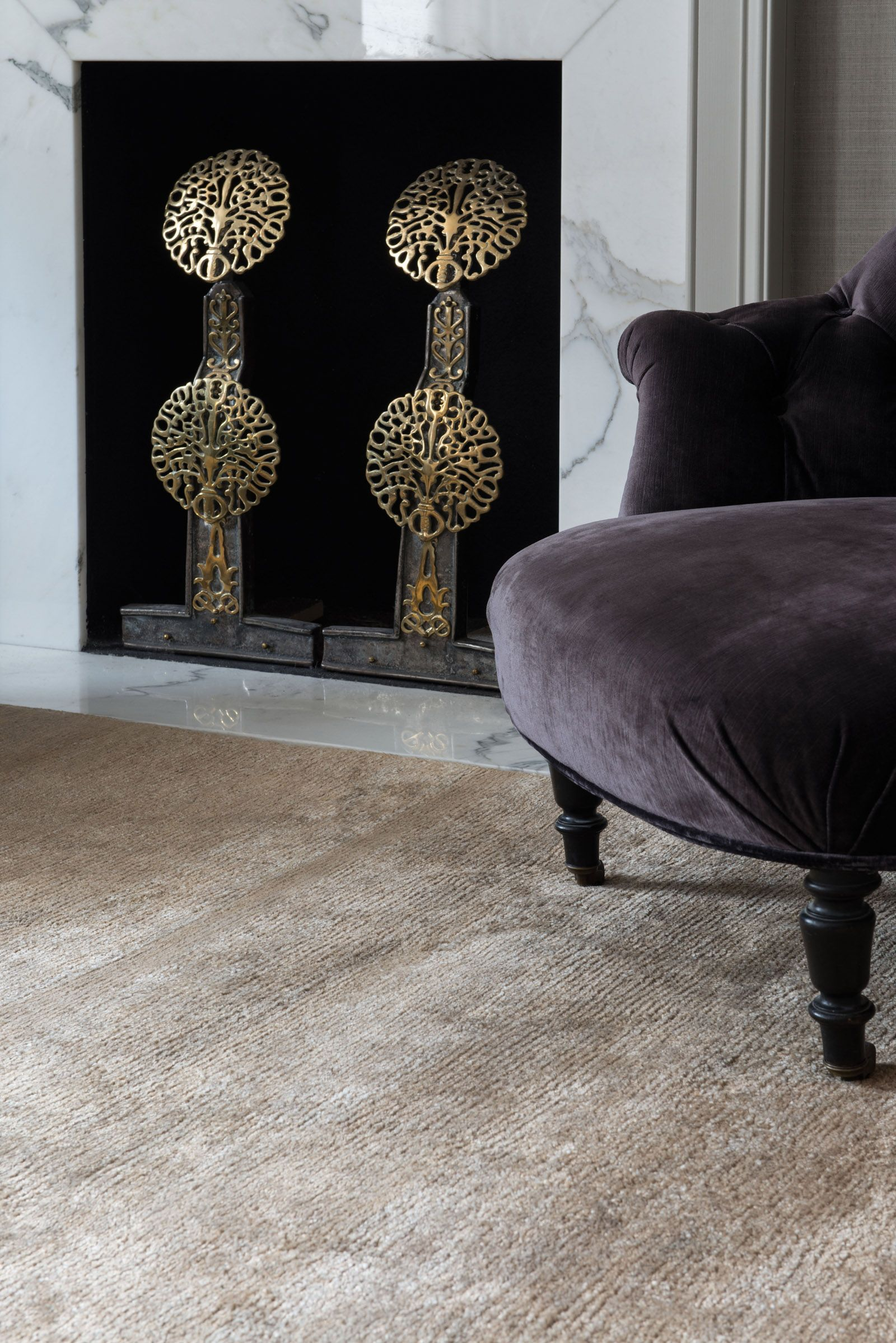Bamboo Silk Bronze By The Rug Company Bronzerugs Silkrugs