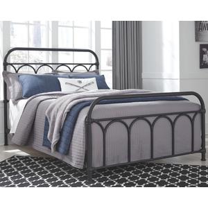 Nashburg Full Metal Bed in 2020 Black metal bed, Metal