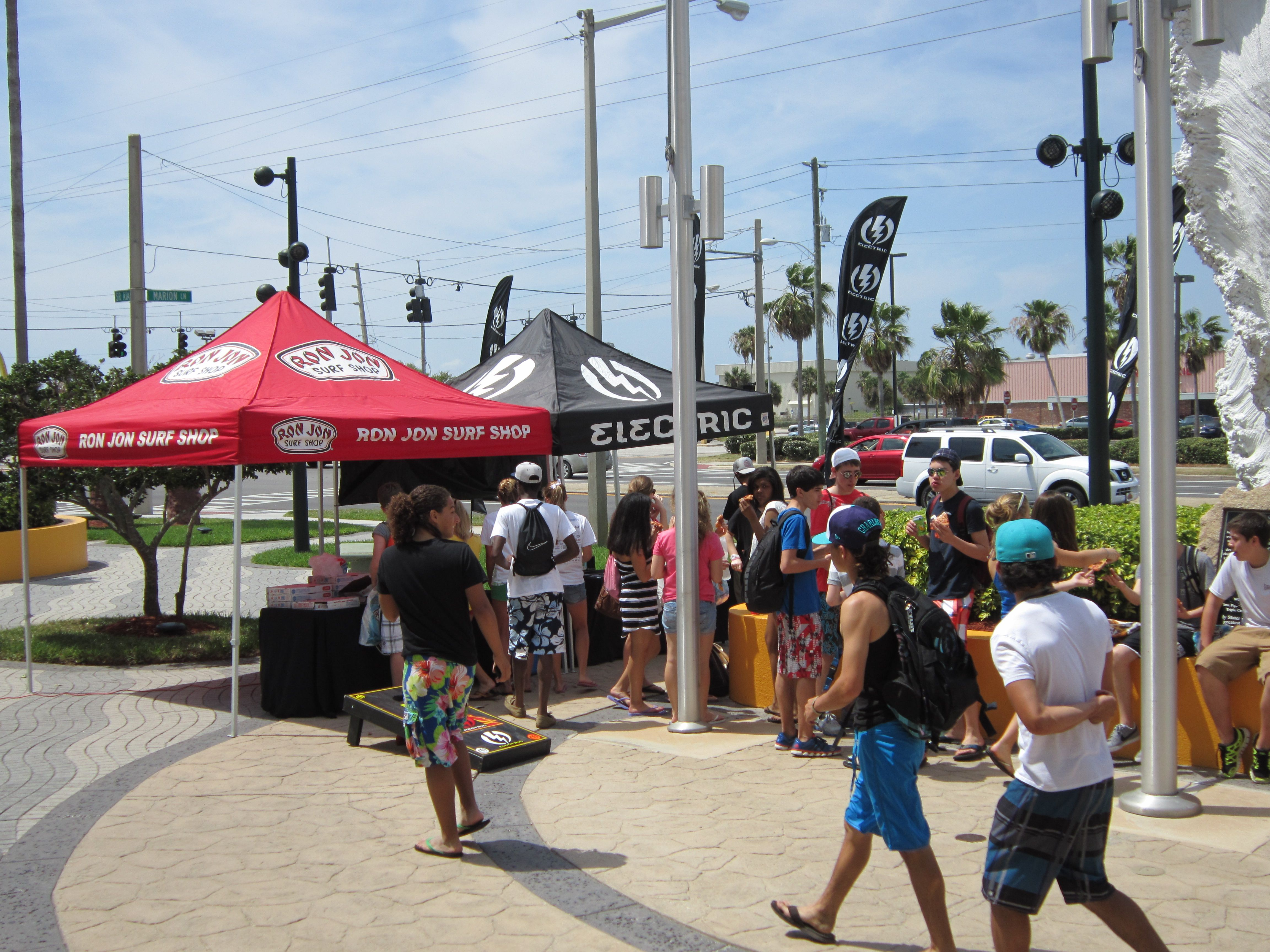 Electric Event At Cocoa Beach 3 30 12