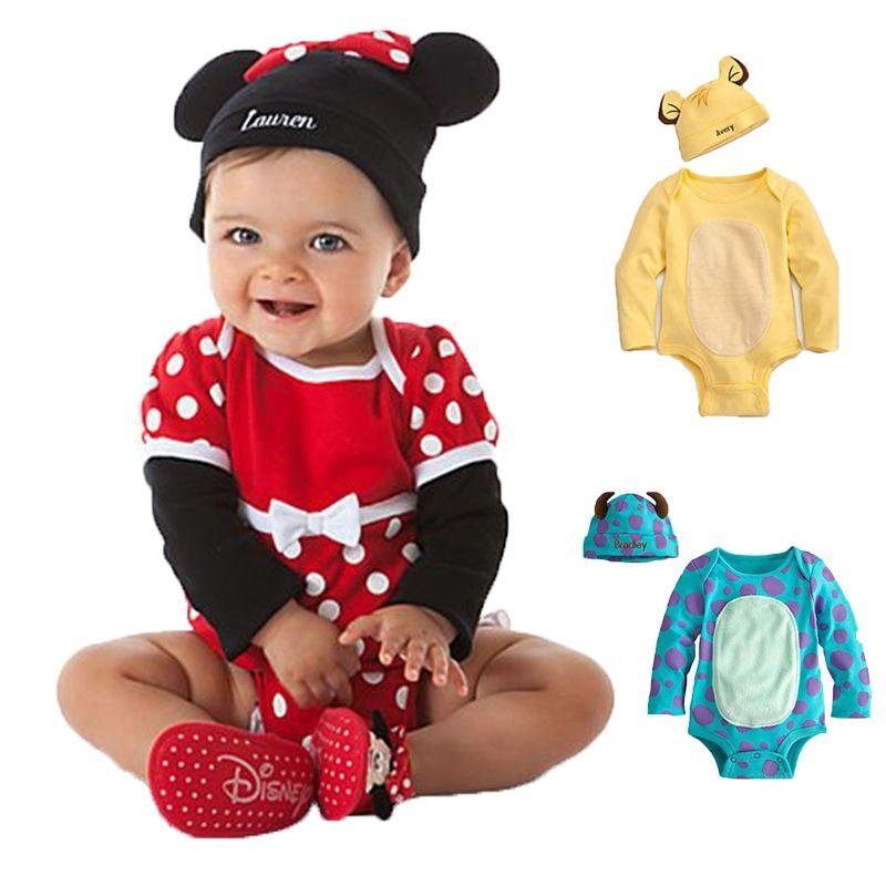 아기 장난 꾸러기 가을 여자 아기 의류 세트 만화 봄 신생아 아기 옷 Roupa의 Bebes 아기 소년 옷 유아 점프 슈트