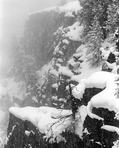 Snow storm in black canyon of the gunnison photographer john key cerulean gallery amarillo