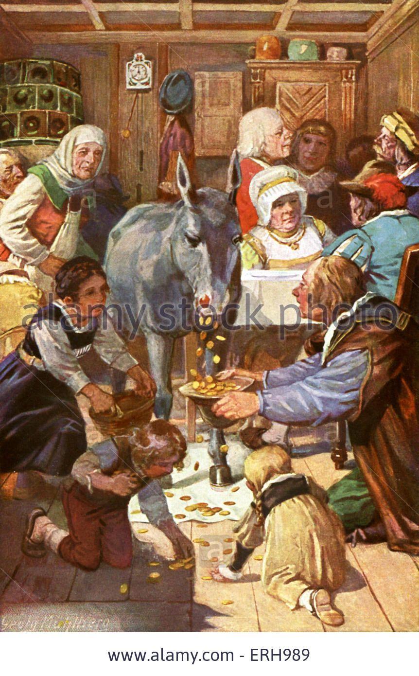 Tischchen Deck Dich Goldesel Und Knuppel Aus Dem Sack Cerca Con Google Grimm Marchen Comics Grimms Marchen