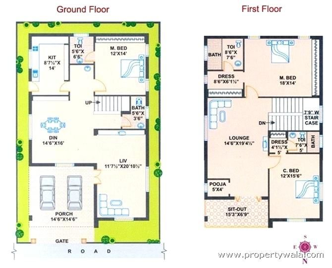 West Facing House Vastu West Facing House Plans Per Duplex Plan For North Plot Marvellous Design East P West Facing House North Facing House Indian House Plans