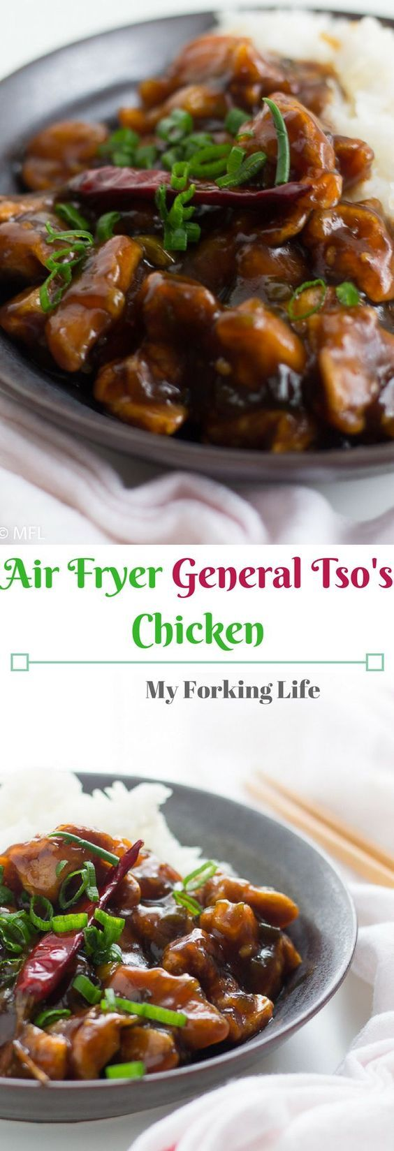 Healthier General Tso's Chicken | Recipe | Food recipes ...
