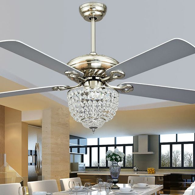 Fashion Vintage Ceiling Fan Lights Funky Style Fan Lamps Bedroom