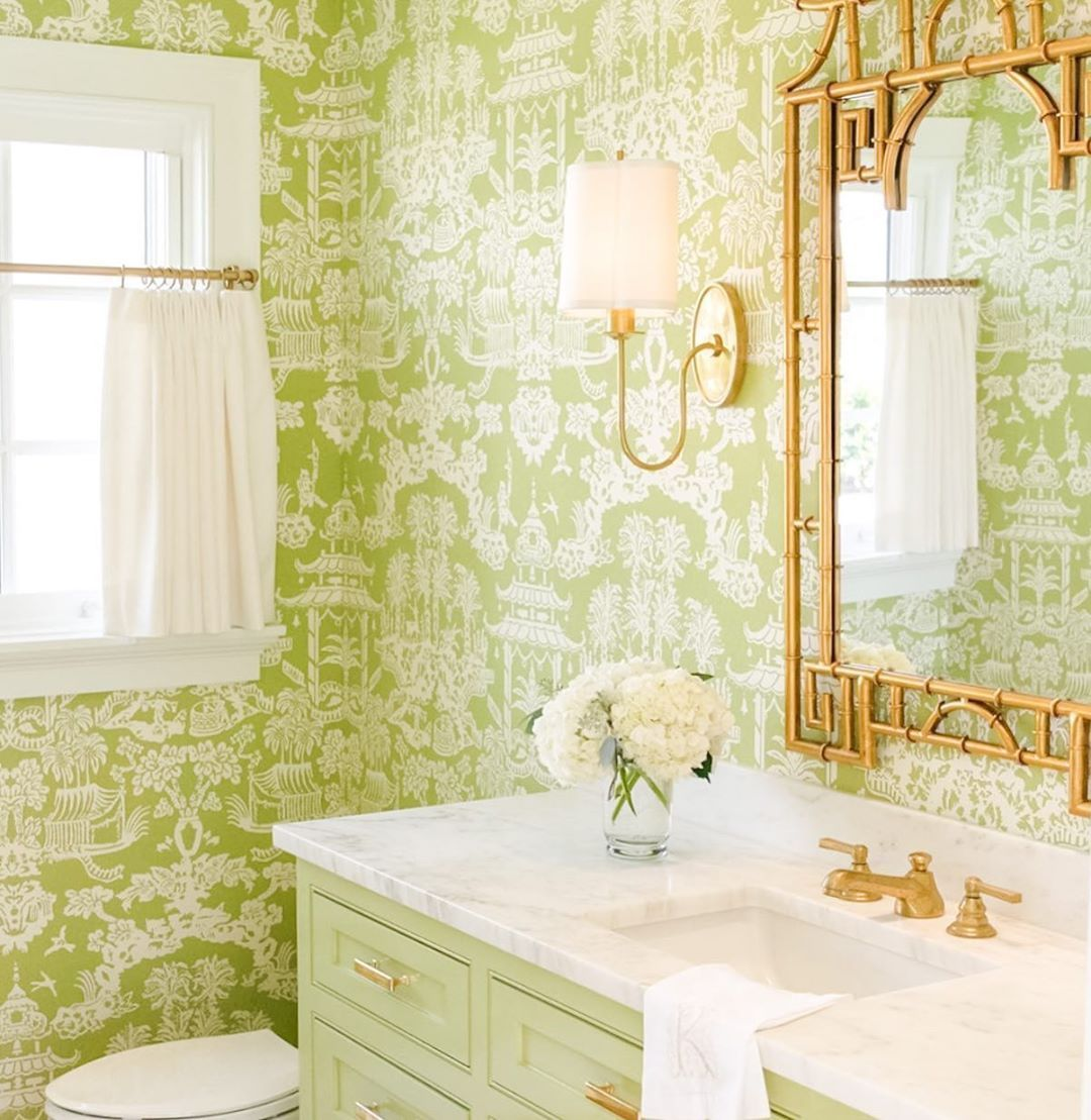 Diy Wallpapering For The First Time Tips Tricks And See My Wallpapered Powder Room How To Install Wallpaper Diy Wallpaper Wallpapering Tips